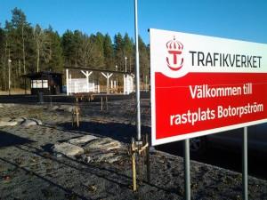 Rastplats vid Botorpström, E22 Oskarshamn - Västervik